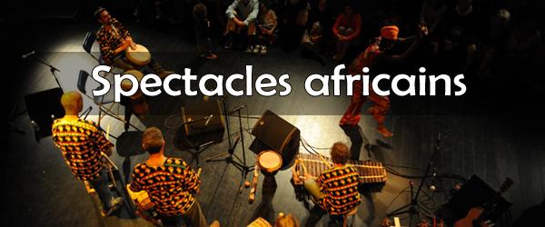 Spectacles de danse et musique africaines